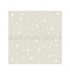 Stencilschablone Stern-Ornament - Alexandra Renke