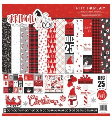 Scrapbooking Papier Kringle & Co., 12x12 - Photoplay
