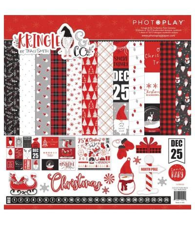 Scrapbooking Papier Kringle & Co., 12x12 - Photoplay