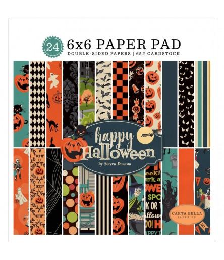 Scrapbooking Papier Happy Halloween - Carta Bella