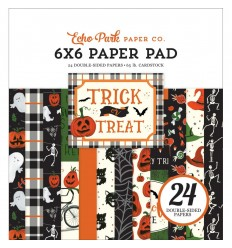 Scrapbooking Papier Trick or Treat, 6x6 - Echo Park