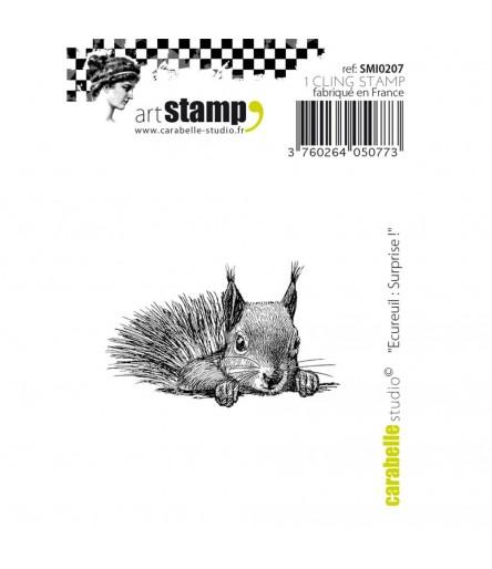 Cling Stempel Eichhörnchen - Carabelle Studio