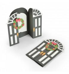 Stanzschablone Door Fold-A-Long Card - Sizzix