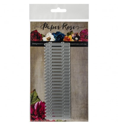 Stanzschablone Picket Fence - Paper Rose