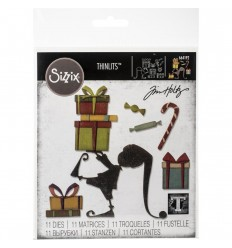 Stanzschablone Santa's Helper - Tim Holtz