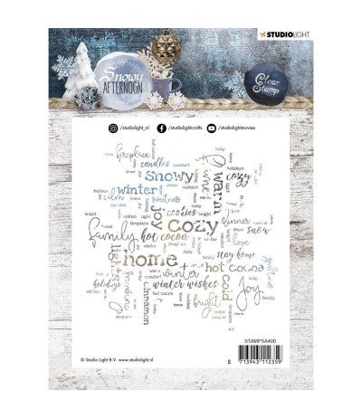 Clear Stamp Snowy Afternoon - StudioLight