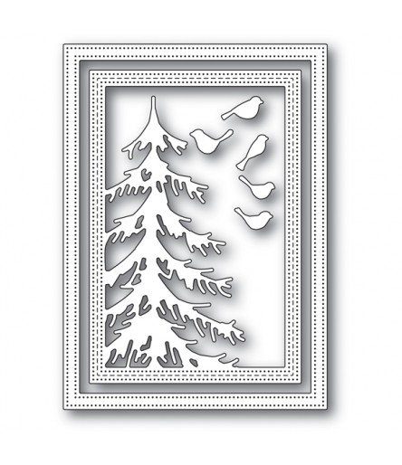 Stanzschablone Delicate Pine Frame - Memory Box