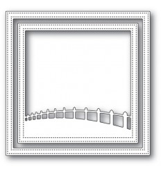 Stanzschablone Countryside Fence Frame - Memory Box