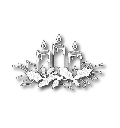 Stanzschablone Glowing Candles - Memory Box