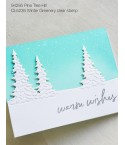 Stanzschablone Pine Tree Hill - Memory Box