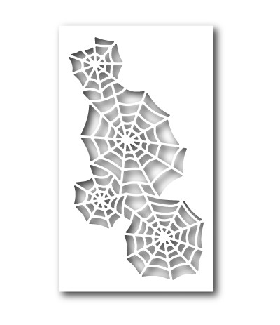 Stanzschablone Spidery Web Collage - Memory Box