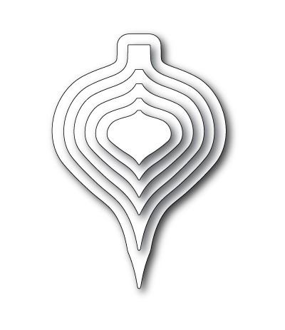 Stanzschablonen Drop Ornament Layers - Memory Box