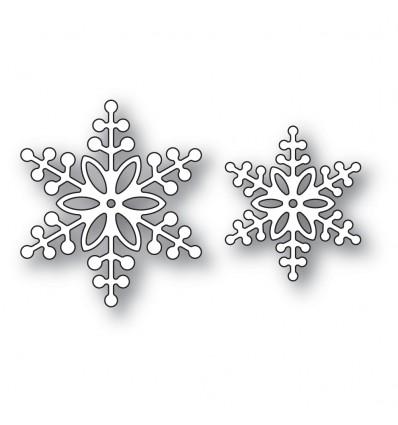 Stanzschablonen Bauble Snowflakes - Memory Box
