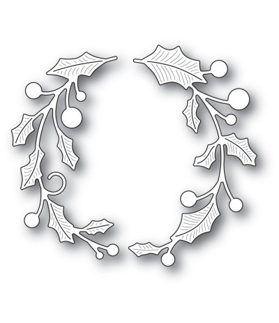 Stanzschablone Holly Double Arch - Memory Box