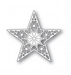 Stanzschablone Holiday Heart Star - Memoy Box