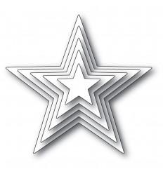Stanzschablone Shining Star Set - Memory Box
