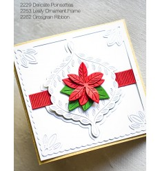 Stanzschablone Grosgrain Ribbon - Poppy Stamps