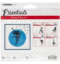 Stanz- und Stempel-Set Elf mit Leiter - Studio Light