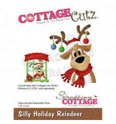 Stanzschablone Silly Holiday Reindeer - Cottage Cutz