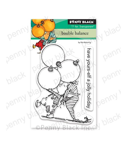 Clear Stamps bauble balance - Penny Black