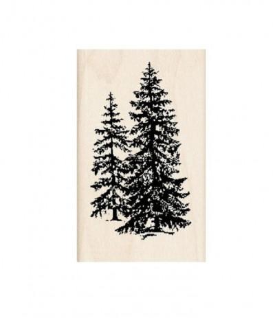 Stempel Pine Trees - Inkadinkado