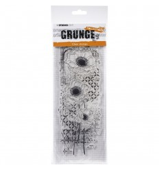 Clear Stamp Blumen Grunge Collection - StudioLight