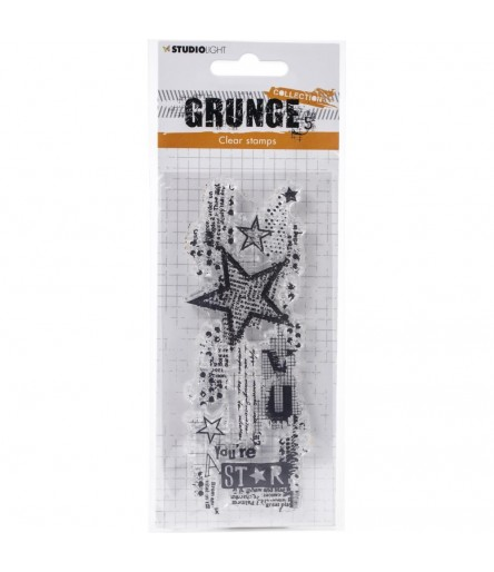 Clear Stamp Sterne Grunge Collection - Studio Light