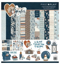 Scrapbooking Papier for the love of Winter - Photo Play