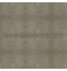 Scrapbooking Papier Holzstruktur grau - Alexandra Renke