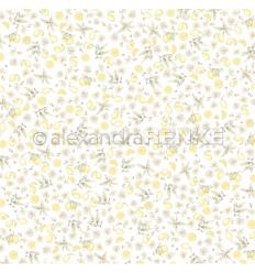 Scrapbooking Papier Zitronengarten - Alexandra Renke