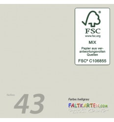 Scrapbooking Papier in schoko, 12 Stk. - FK