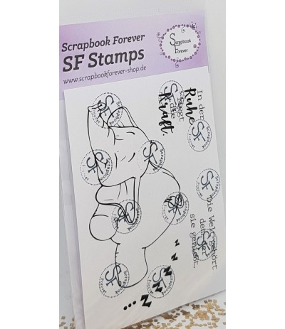 Clear Stamps Elefant - Scrapbook Forever