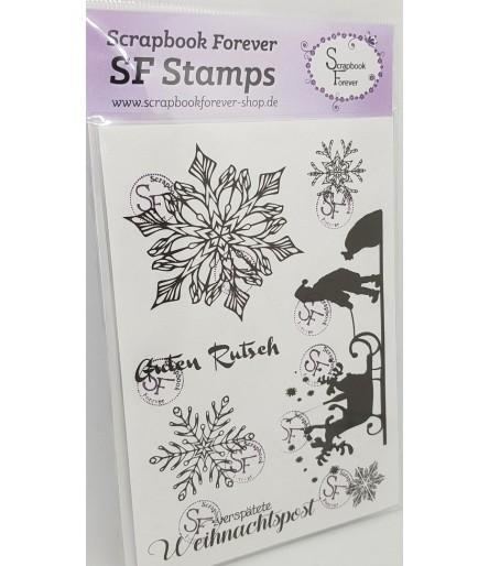 Clear Stamps Verspätete Weihnachten - Scrapbook Forever