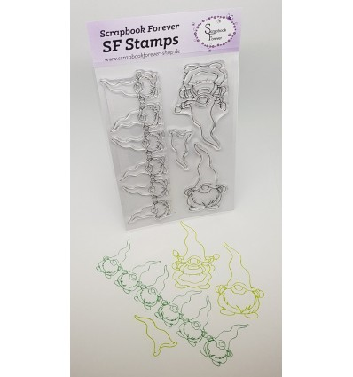 Clear Stamps Wichtel - Scrapbook Forever