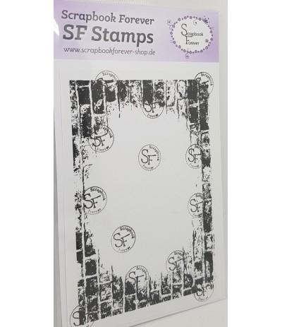 Clear Stamp Hintergrund Mauer - Scrapbook Forever
