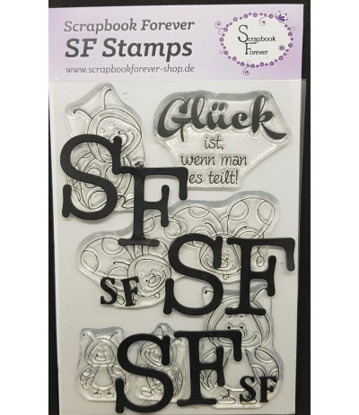 Clear Stamps Marienkäfer - Scrapbook Forever