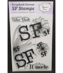 Clear Stamps Die besten Wünsche - Scrapbook Forever