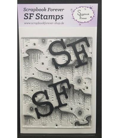 Clear Stamp Hintergrund Perlenzauber - Scrapbook Forever