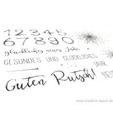 Clear Stamps Guten Rutsch - Creative Depot