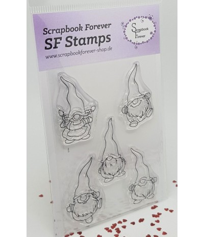 Clear Stamps Wichtel minis -Scrapbook Forever