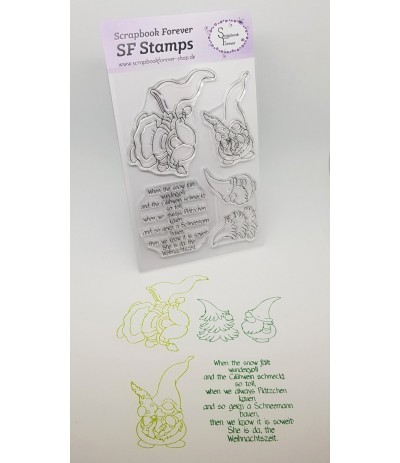 Clear Stamps When the snow - Scrapbook Forever