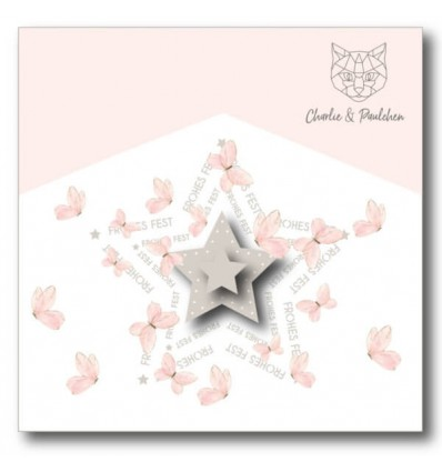 StanzschablonenText-Sterne - Charlie & Paulchen
