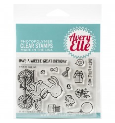 Clear Stamps Wheelie Great - Avery Elle