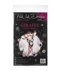 Clear Stamps Giraffe - Pink Ink Designs
