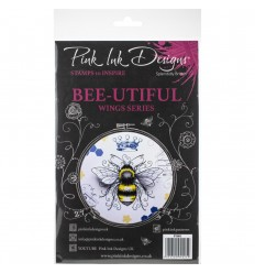 Clear Stamps Bee-Utiful - Pink Ink Designs