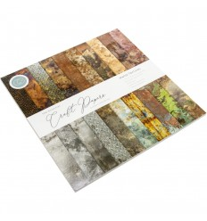 Scrapbooking Papier Metal Textures - Craft Consortium