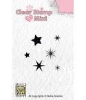 Clear Stamps Stars - Nellie's Choice