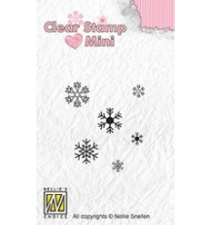 Clear Stamps Snowflakes - Nellie's Choice