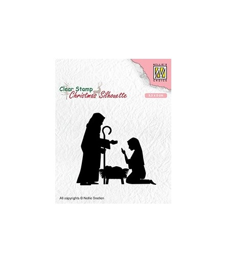 Clear Stamp Nativity 2 - Nellie's Choice