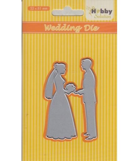 Stanzschablone Wedding - Hobby Solution